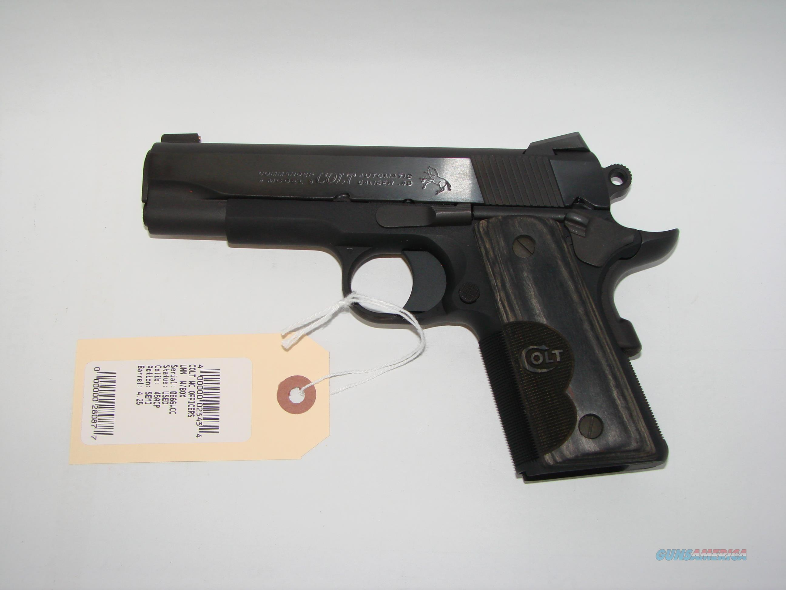 Colt Wiley Clapp Lightweight   Guns > Pistols > Colt Automatic Pistols (1911 & Var)