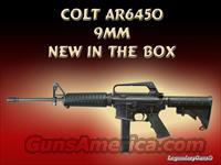 Colt AR-15 9mm Carbine New in the box  Guns > Rifles > Colt Military/Tactical Rifles
