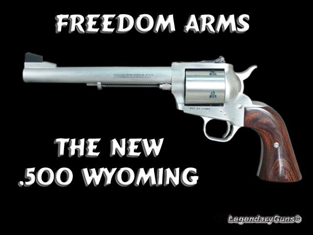 Freedom Arms 500 Wyoming Express  Guns > Pistols > Freedom Arms Pistols