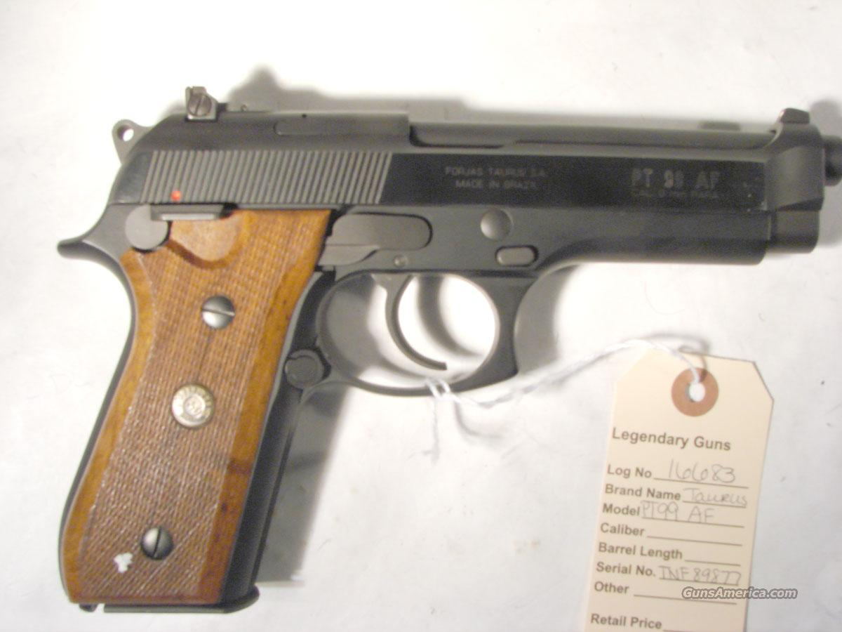 Taurus PT 99AF 9MM used in very good condition,  Guns > Pistols > Taurus Pistols/Revolvers > Pistols > Steel Frame