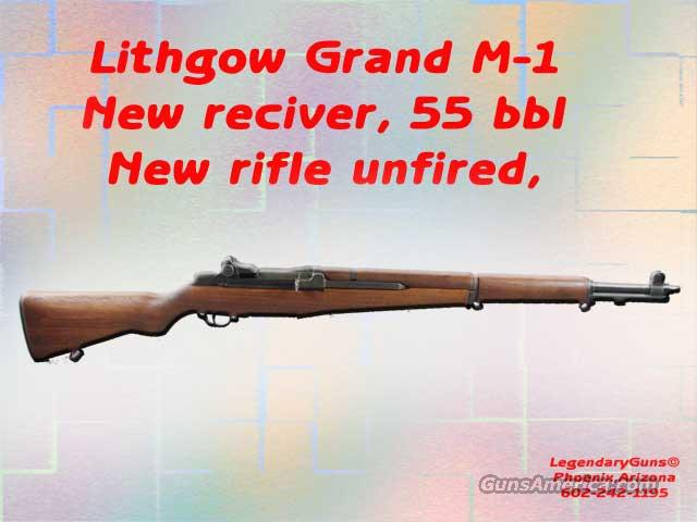 Lithgow M1 Garand 30-06  Guns > Rifles > Military Misc. Rifles US > M1 Garand