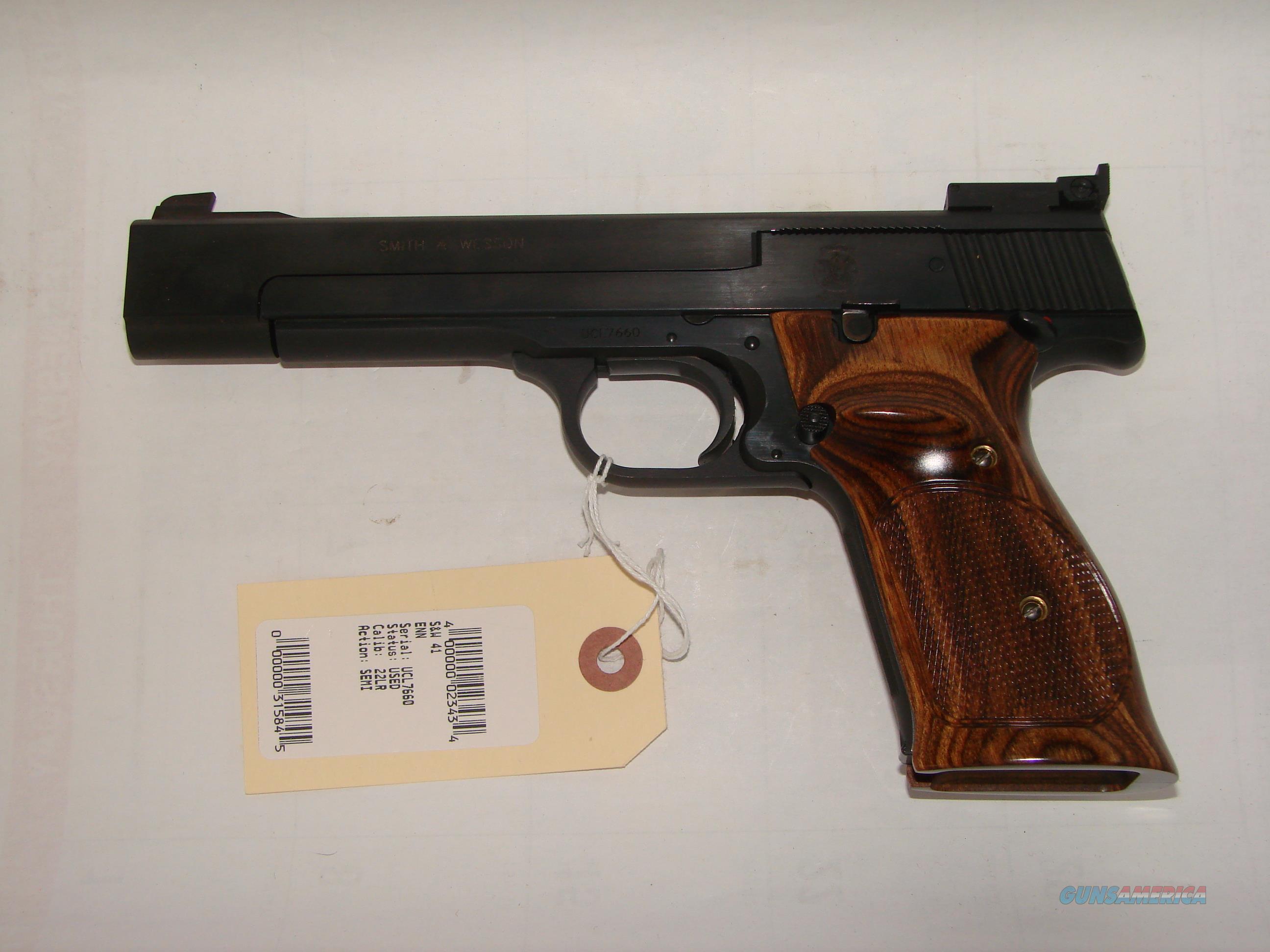 S&W 41  Guns > Pistols > Smith & Wesson Pistols - Autos > .22 Autos