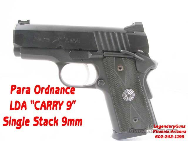 "Para ""Carry 9"" LDA  Single Stack  Guns > Pistols > Para Ordnance Pistols"
