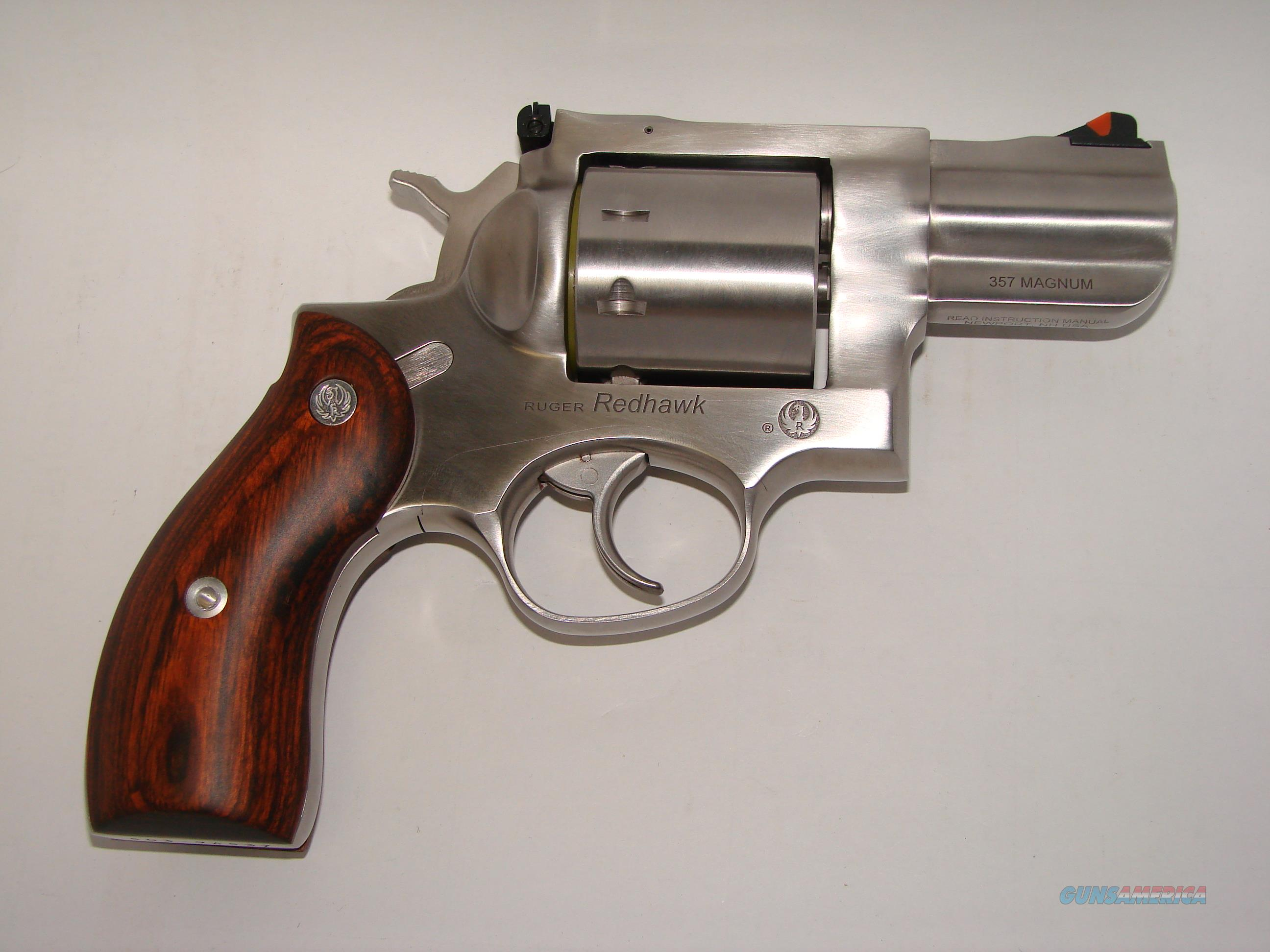 Ruger Redhawk 357Mag  Guns > Pistols > Ruger Double Action Revolver > Redhawk Type
