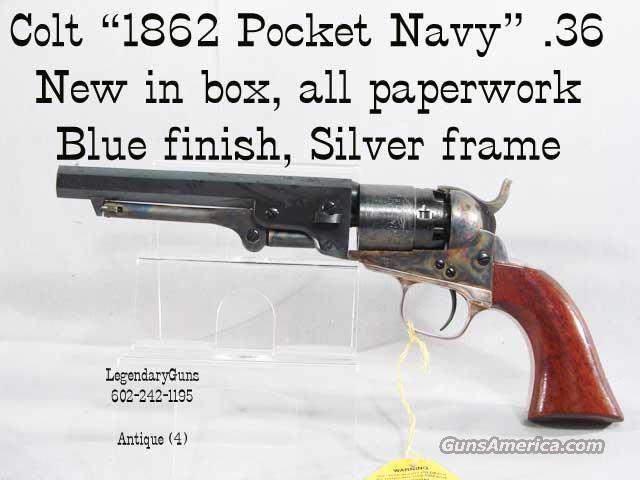 colt 1862 pocket navy black powder pistol for sale