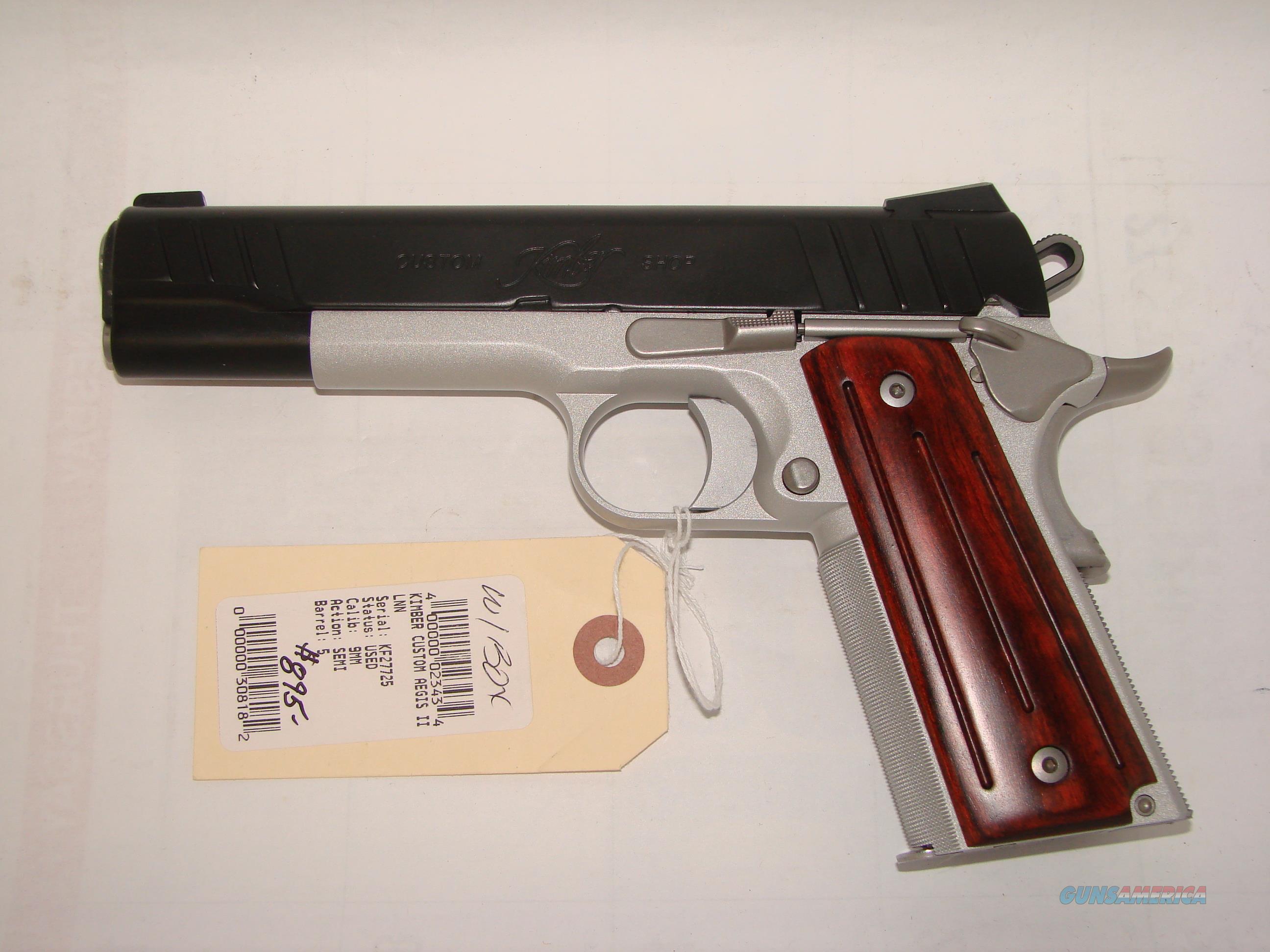 Kimber Custom Aegis II  Guns > Pistols > Kimber of America Pistols > 1911