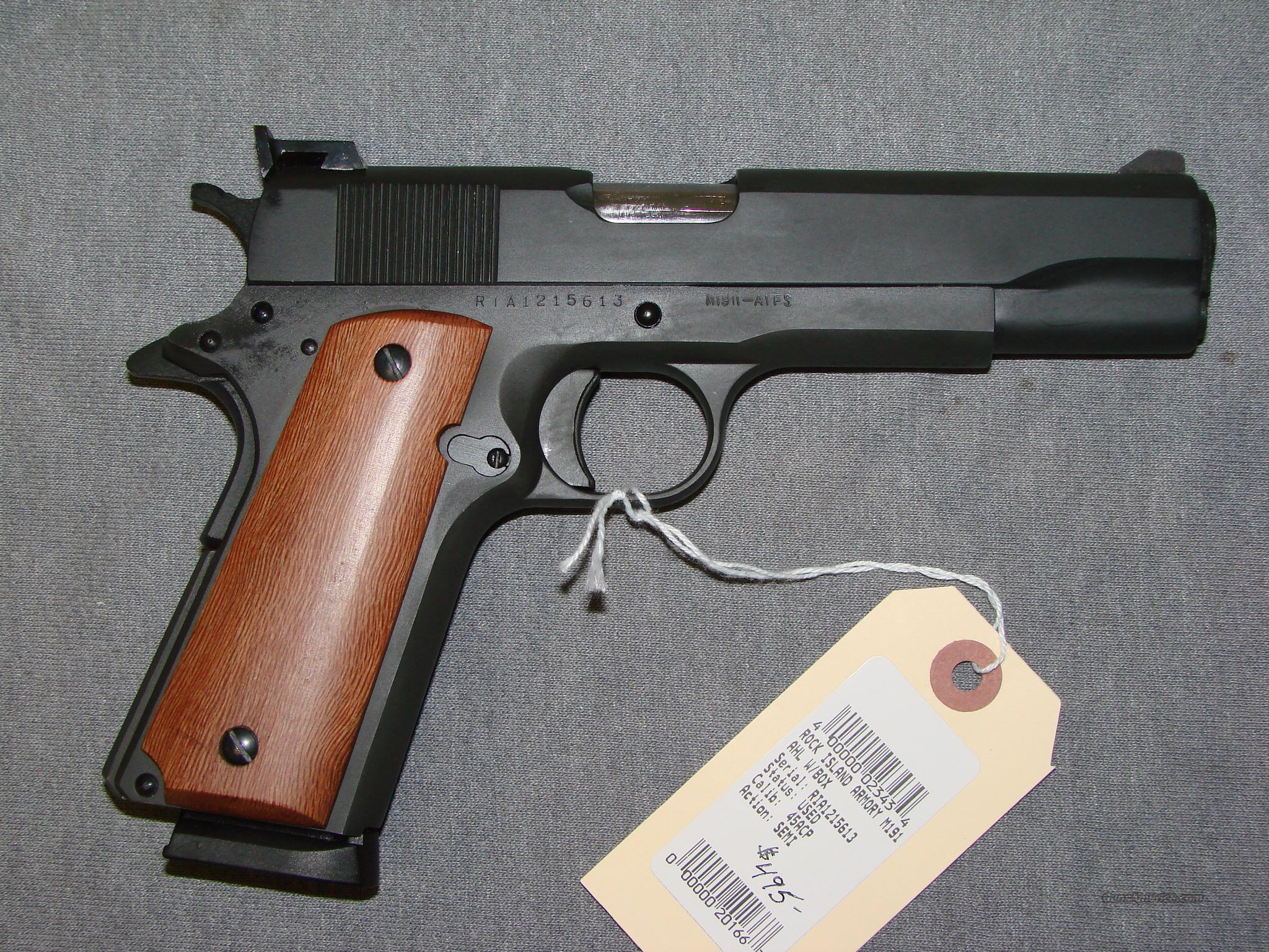 Rock Island 1911  Guns > Pistols > 1911 Pistol Copies (non-Colt)