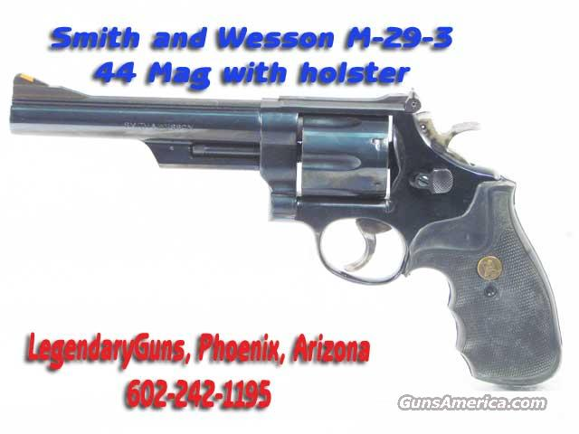 S&W M-29-3 6 inch BBL with holster  Guns > Pistols > Smith & Wesson Revolvers > Model 629