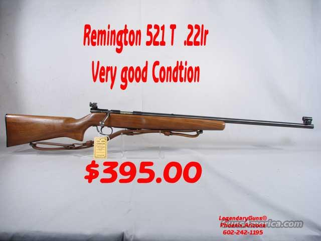 Remington 521-T .22lr  Guns > Rifles > Remington Rifles - Modern > Non-Model 700