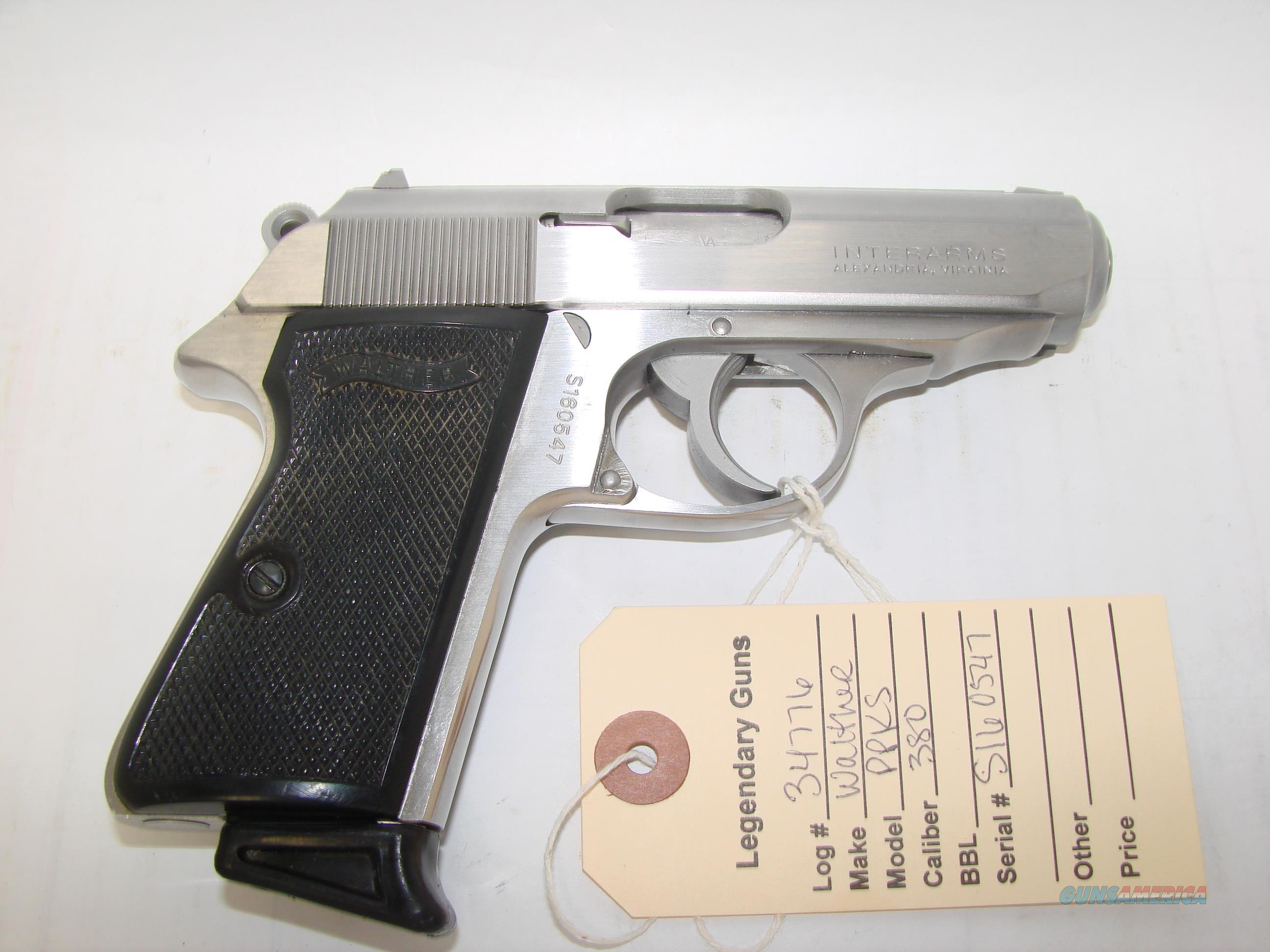 Walther PPKS  Guns > Pistols > Walther Pistols > Post WWII > PPK Series