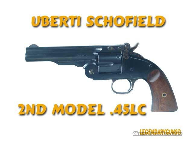 Uberti Model 1875 Top Break .45 LC Used As New in box  Guns > Pistols > Uberti Pistols > Ctg.