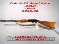 "Colt"" THE COLTEER""  4-22 Semi Auto  Tube feed,  Rifle  Guns > Rifles > Colt Rifles - Non-AR15 Modern Rifles"