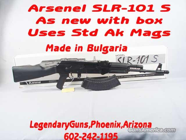 Arsenal SLR-101-S 7.62x39 As new with Box  Guns > Rifles > AK-47 Rifles (and copies) > Full Stock