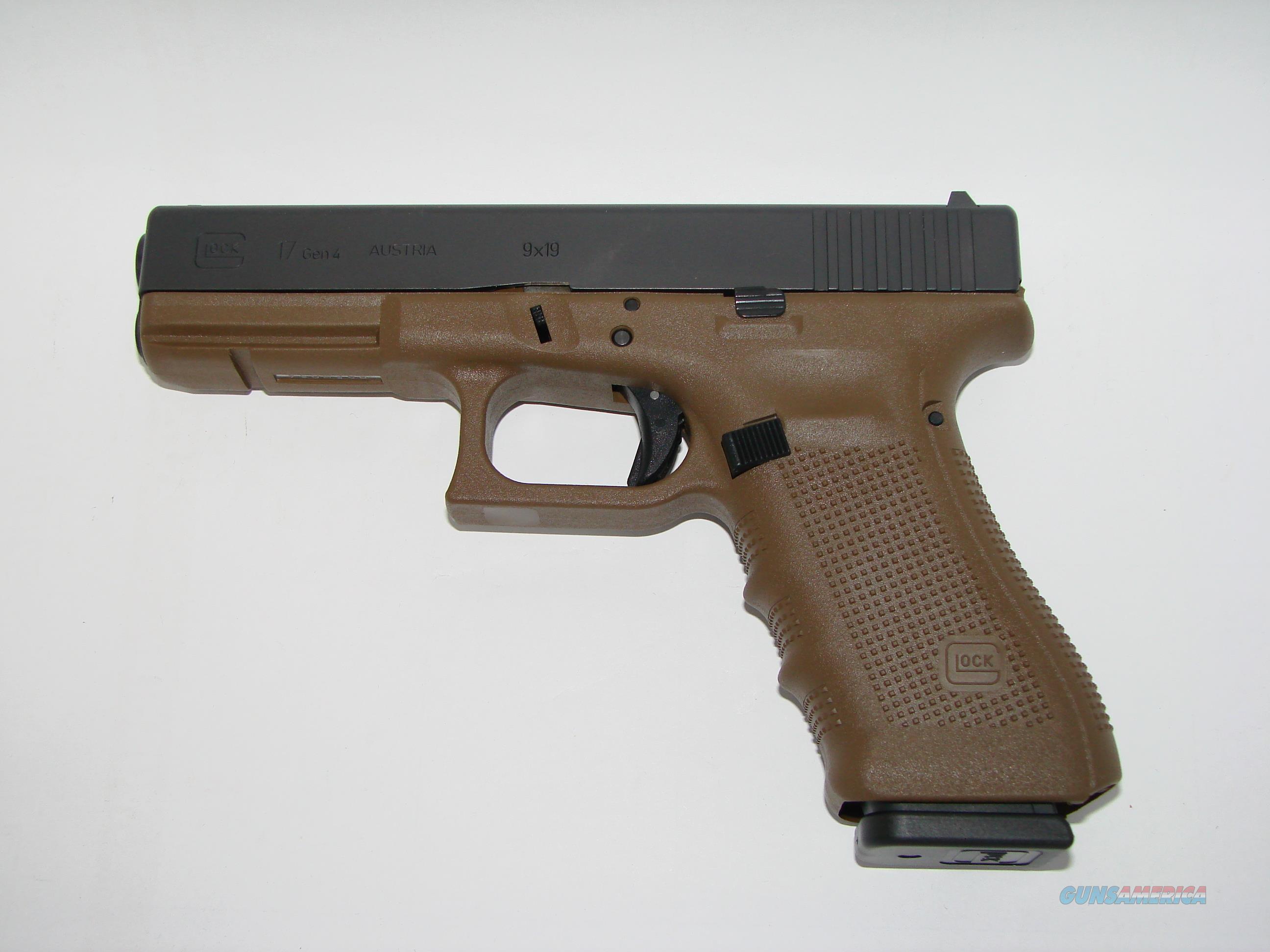 Glock 17 Gen4 FDE  Guns > Pistols > Glock Pistols > 17