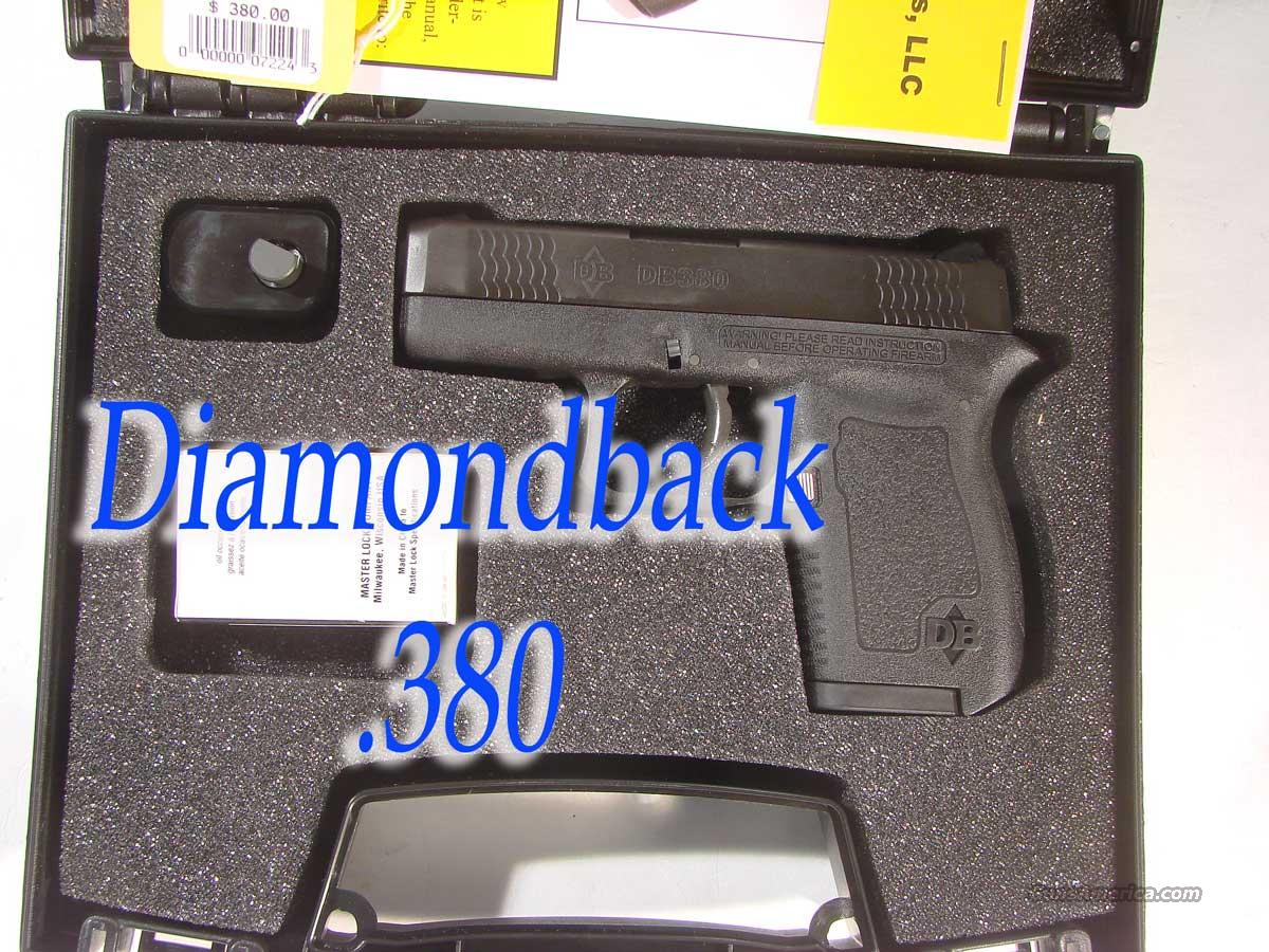 Diamond Back Firearms .380 Semi Auto  Guns > Pistols > D Misc Pistols