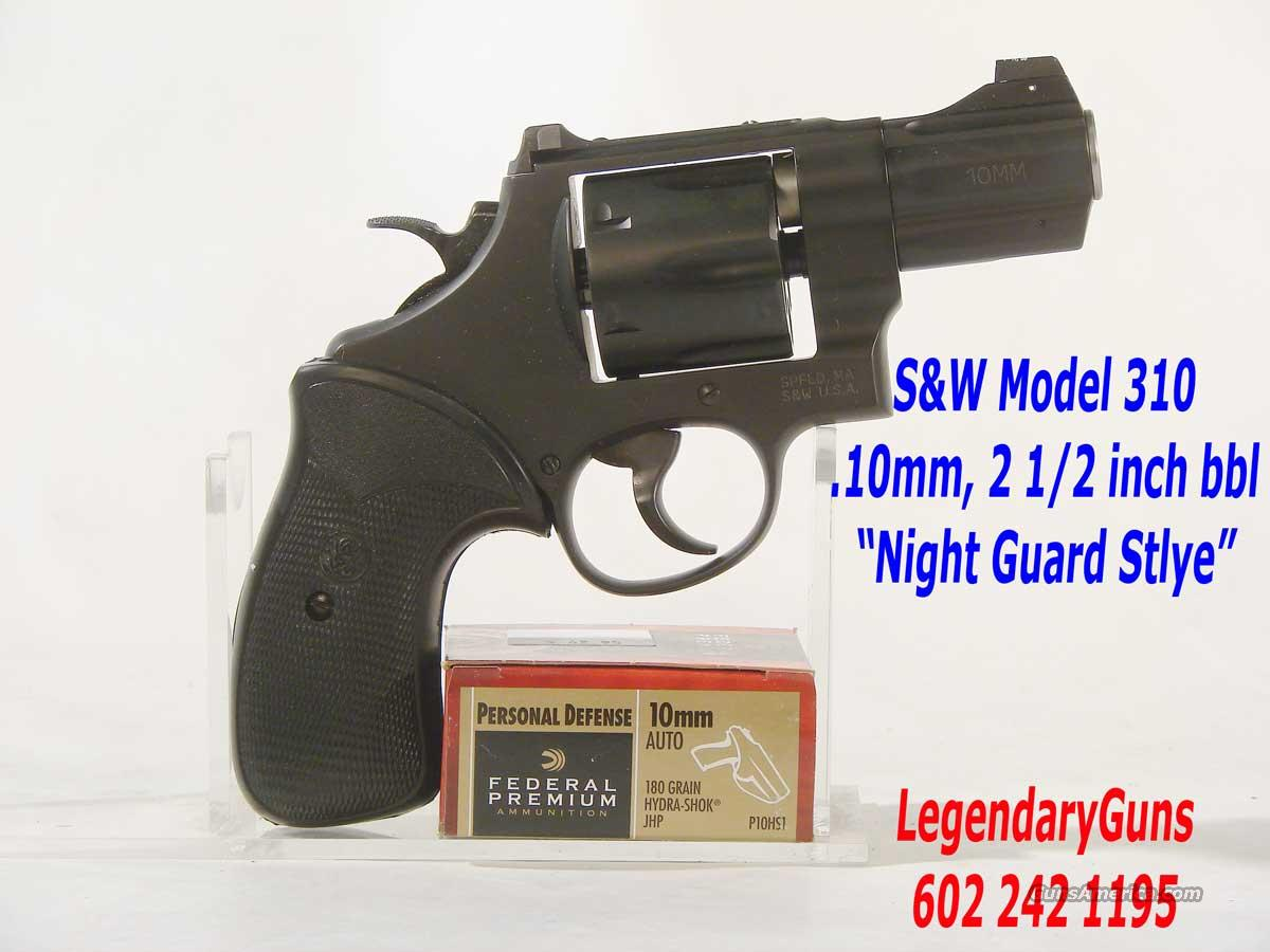 "S&W Model 310  "".10MM"" Six shot ""Night Guard""  Guns > Pistols > Smith & Wesson Revolvers > Performance Center"