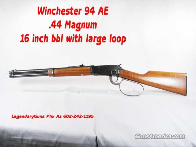 Winchester 1894 AE .44 Mag Large Loop  Guns > Rifles > Winchester Rifles - Modern Lever > Model 94 > Post-64