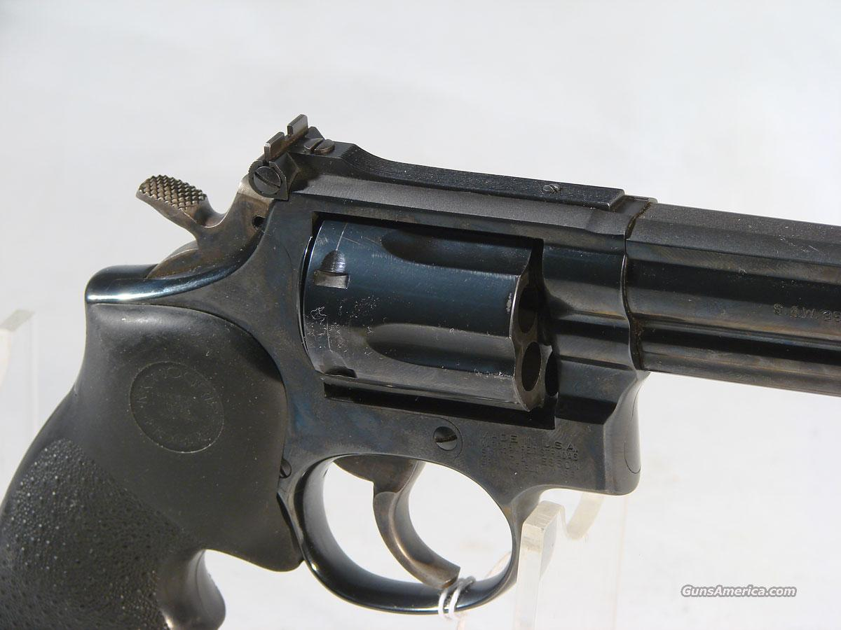 S&W Model 19-6 Blue .357  Guns > Pistols > Smith & Wesson Revolvers > Full Frame Revolver
