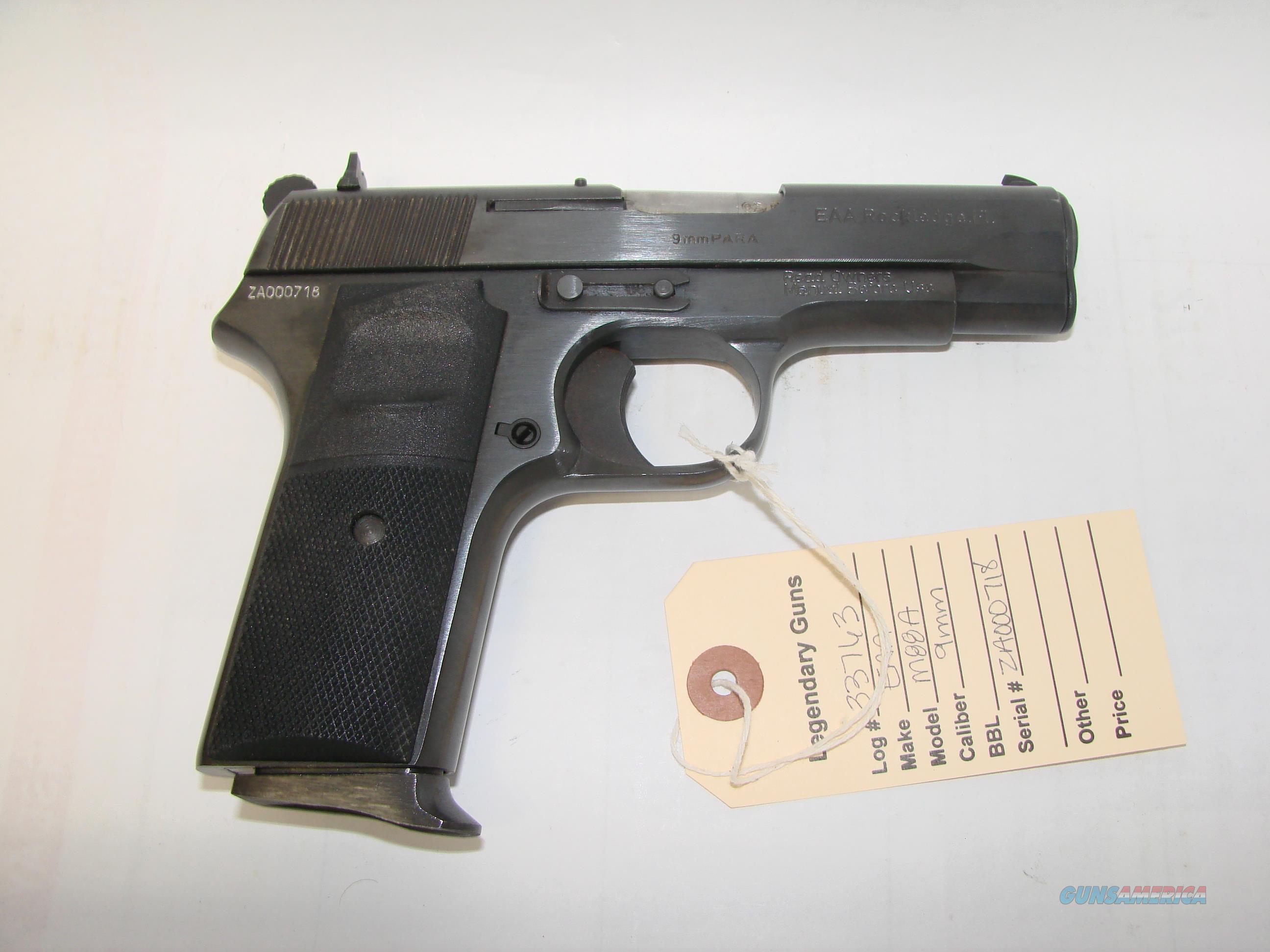 Zastava M88A  Guns > Pistols > Zastava Arms