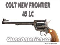 Colt New Frontier .45  Colt Single Action Revolvers - 3rd Gen.