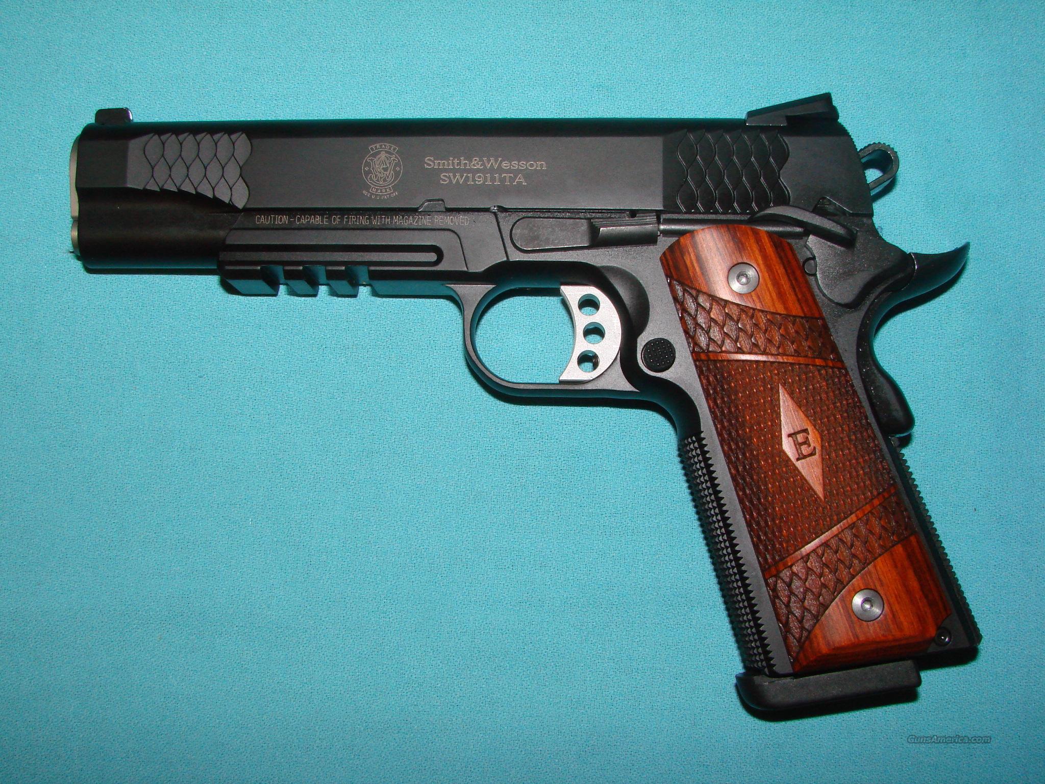 Smith& Wesson 1911TA E series  Guns > Pistols > Smith & Wesson Pistols - Autos > Steel Frame