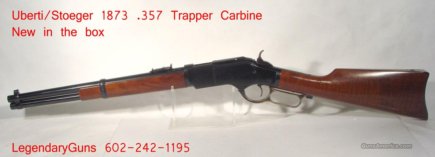 "Uberti ""Trapper Carbine 18 inch rnd bbl,  Guns > Rifles > Uberti Rifles > Lever Action"