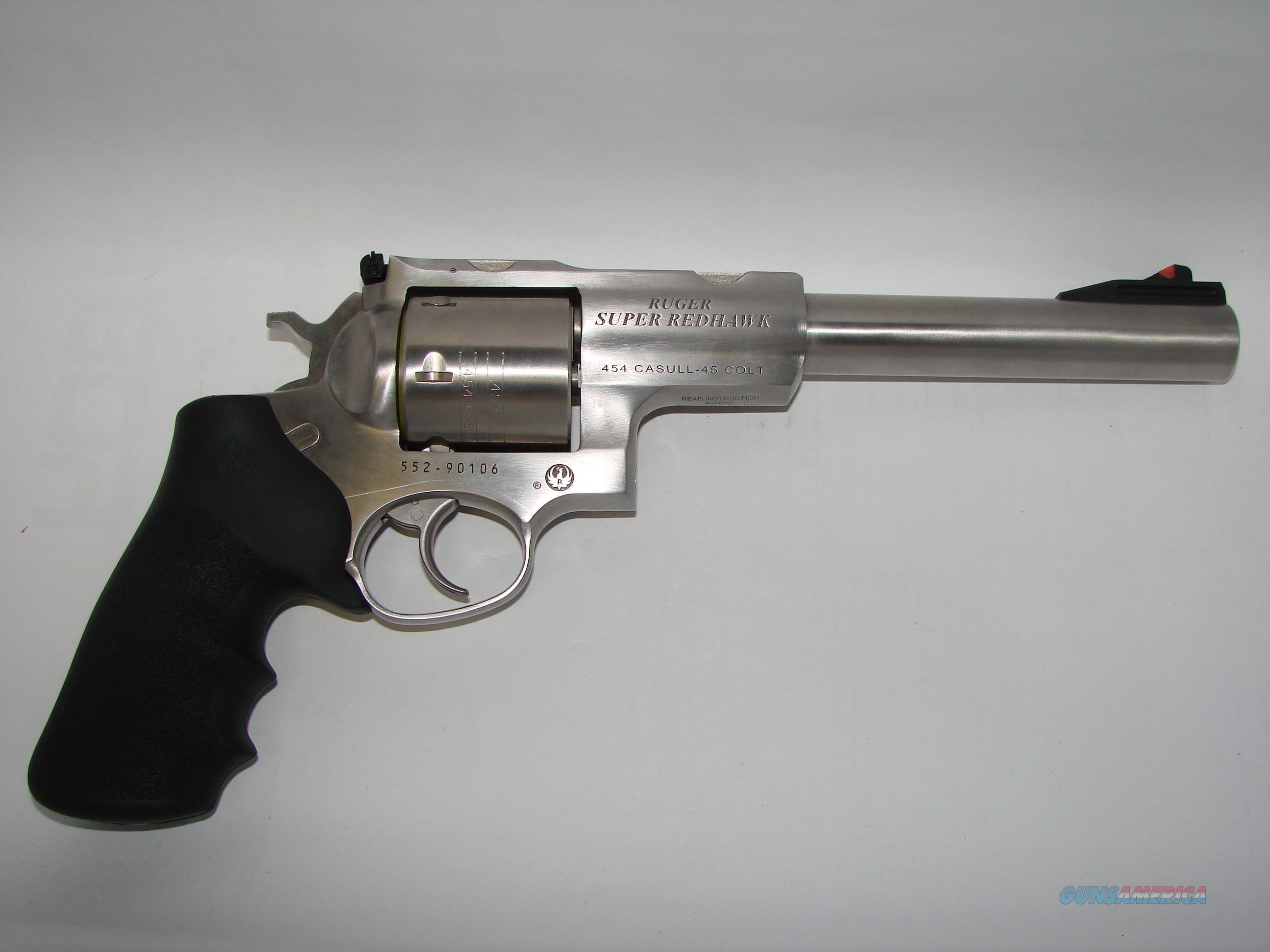 Ruger Super Redhawk  Guns > Pistols > Ruger Double Action Revolver > Redhawk Type
