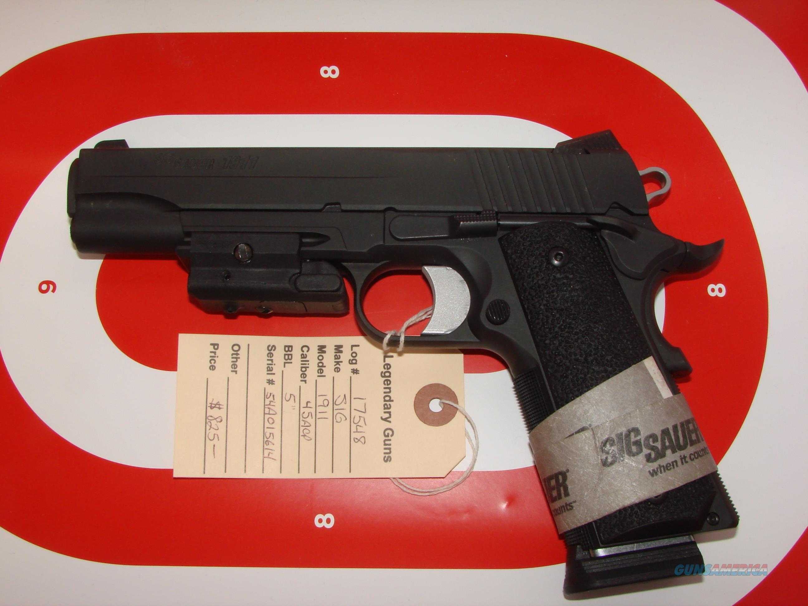 Sig 1911XO .45ACP  Guns > Pistols > Sig - Sauer/Sigarms Pistols > 1911