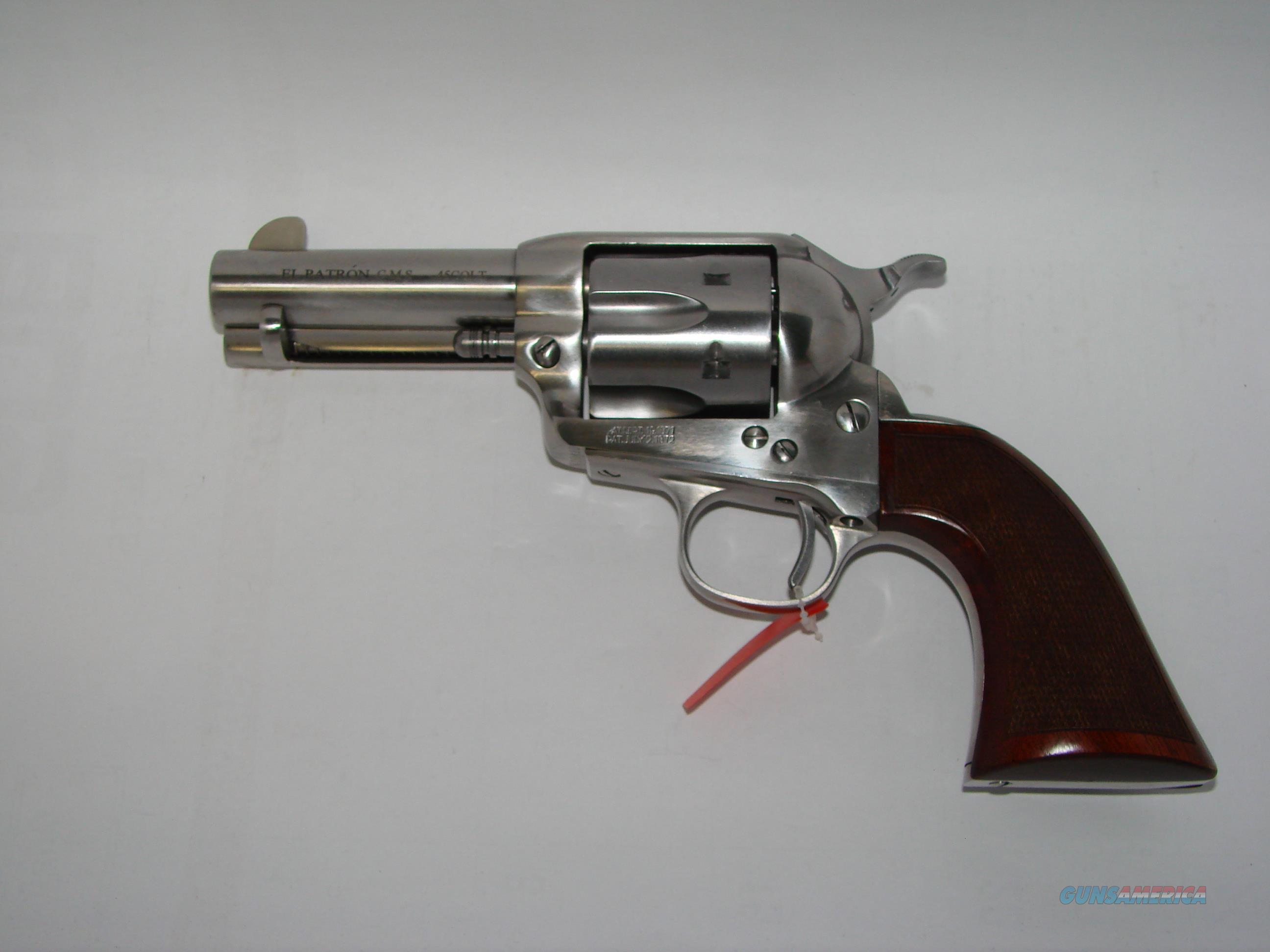 Uberti El Patron Inox 45Colt  Guns > Pistols > Uberti Pistols > Ctg.
