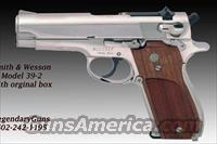 S&W Model 39-2 9mm Bright Nickel  Smith & Wesson Pistols - Autos > Steel Frame