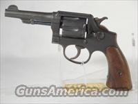 S&W Victory Model .38 Spl  Smith & Wesson Revolvers > Full Frame Revolver