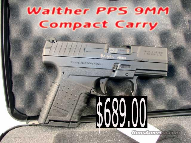Walther PPS .9mm New in box  Guns > Pistols > Walther Pistols > Post WWII > PP Series