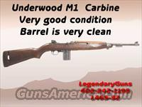 Underwood M1 .30 Carbine  Guns > Rifles > Military Misc. Rifles US > M1 Carbine