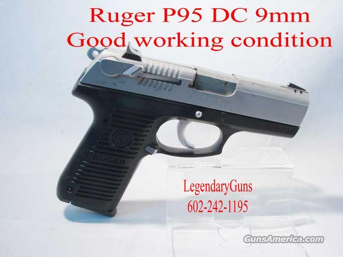 Ruger P95  DC  Polymer frame   Guns > Pistols > Ruger Semi-Auto Pistols > Full Frame Autos