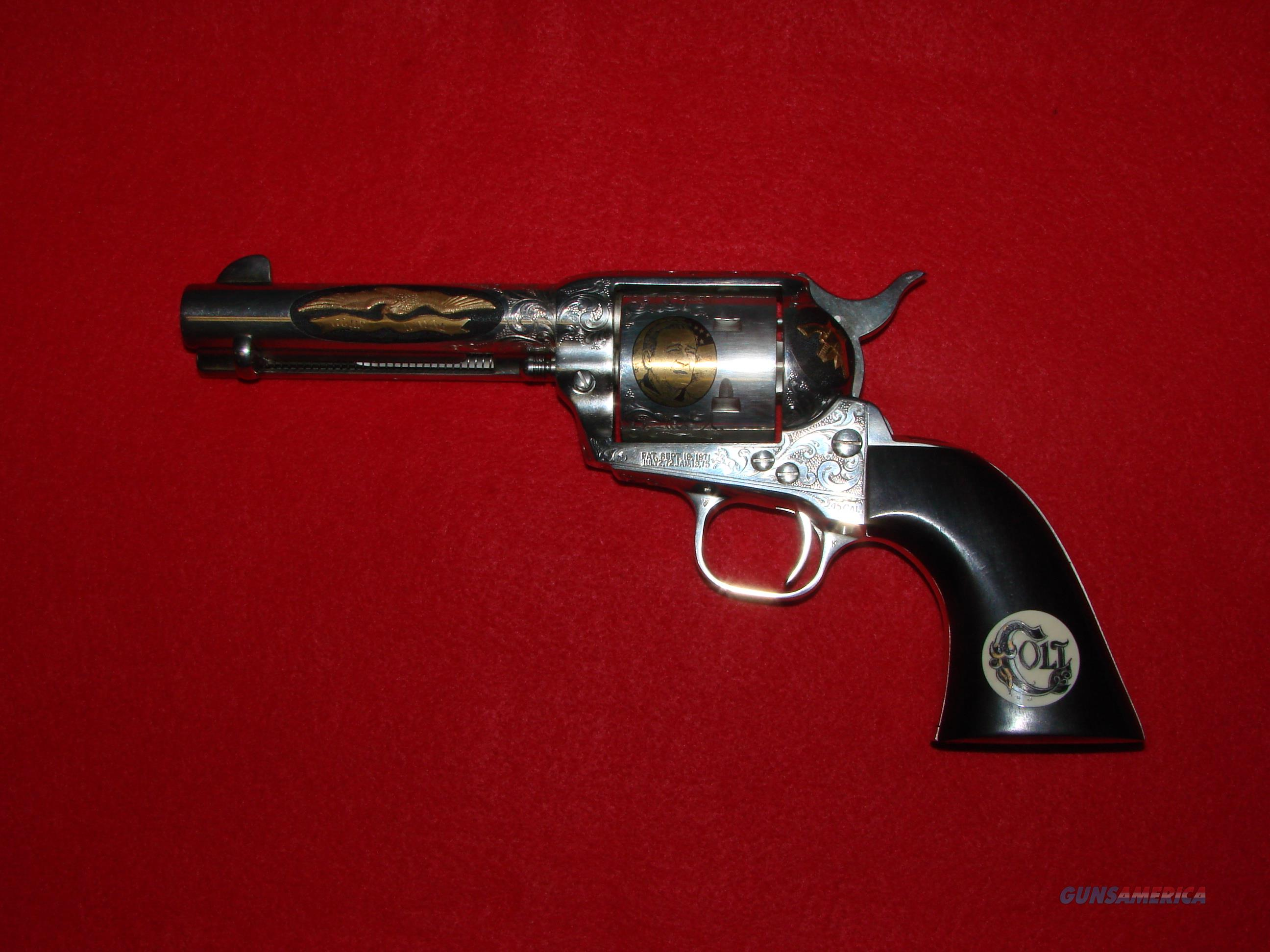 Colt SAA John Wayne Deluxe  Guns > Pistols > Colt Single Action Revolvers - 2nd Gen.