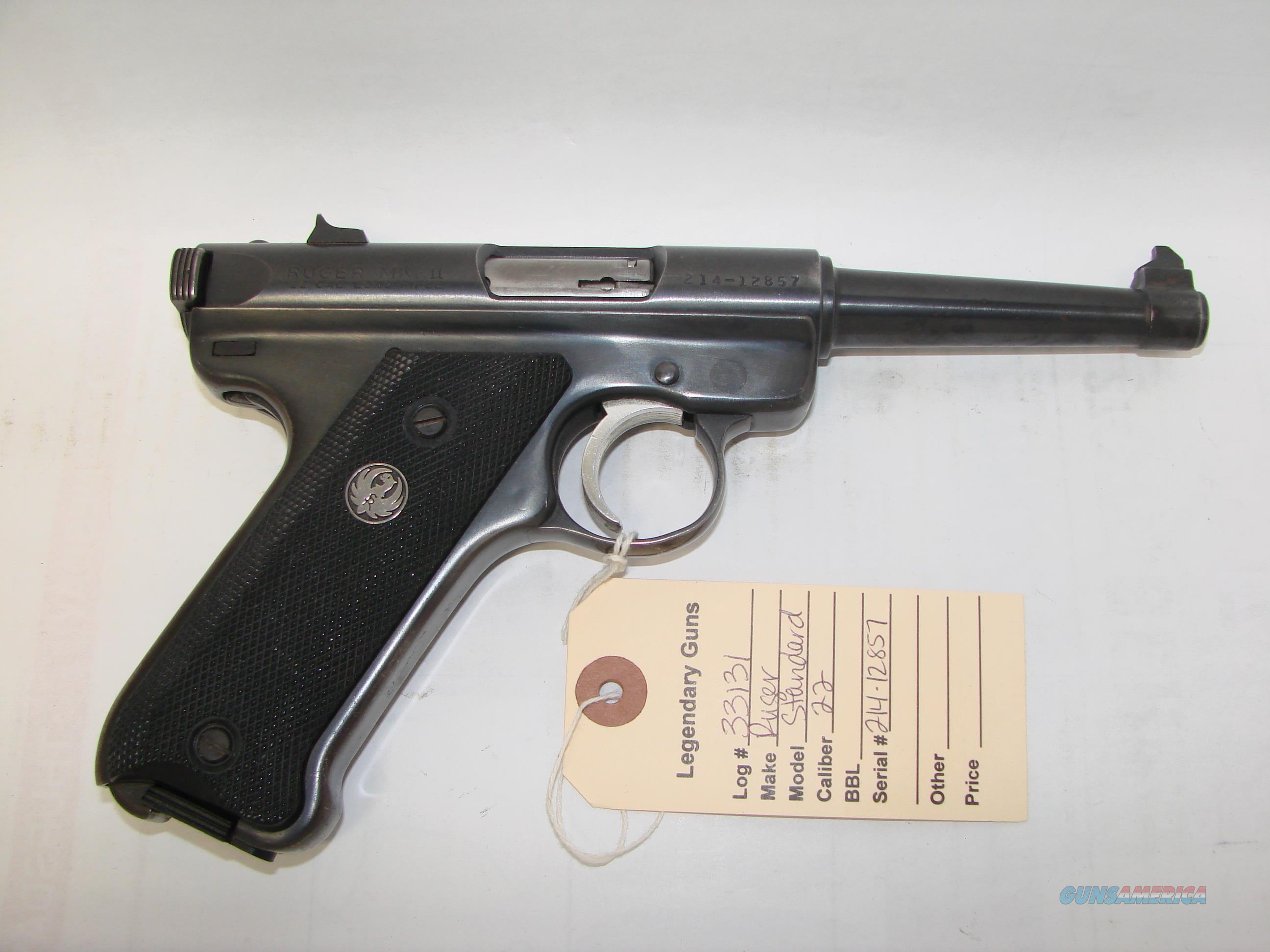 Ruger Mk II  Guns > Pistols > Ruger Semi-Auto Pistols > Mark I/II/III/IV Family