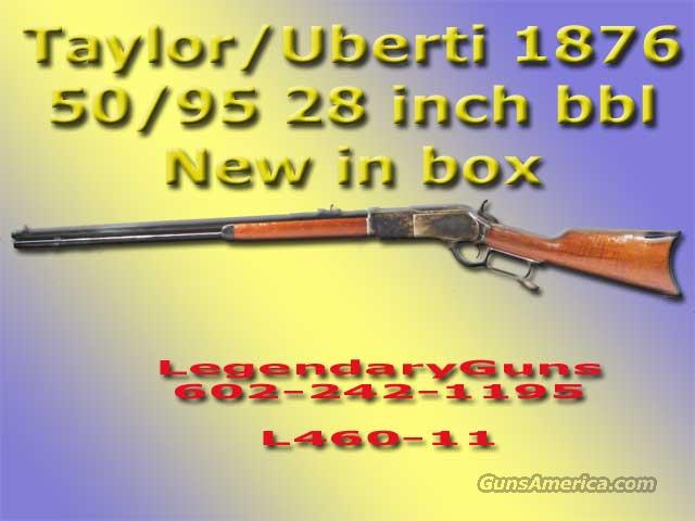 Taylor's 1876 50/90 Lever action rifle  Guns > Rifles > Taylors & Co. Rifles > Winchester Lever Type