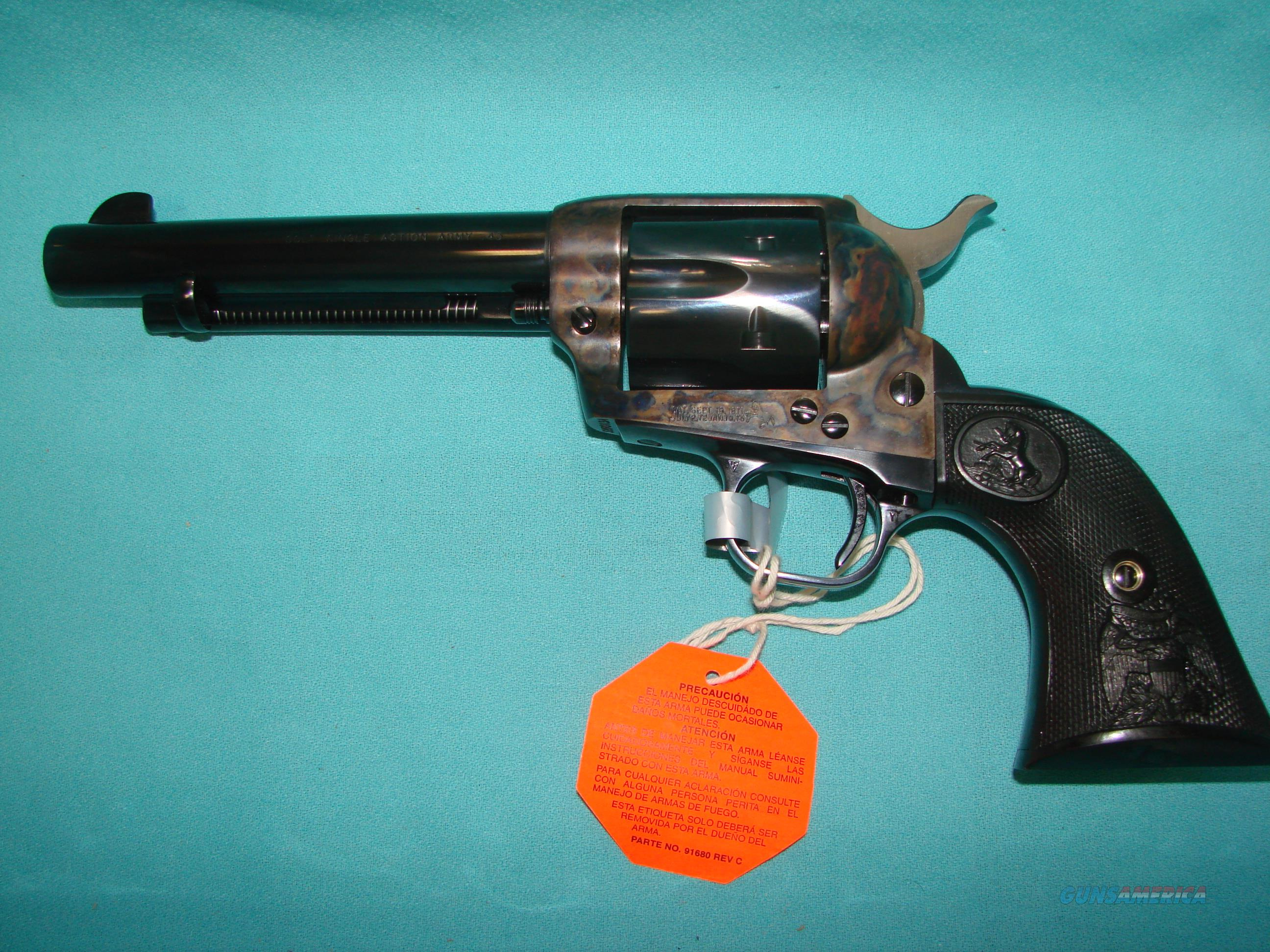 "Colt SAA 5.5""  Guns > Pistols > Colt Single Action Revolvers - 3rd Gen."