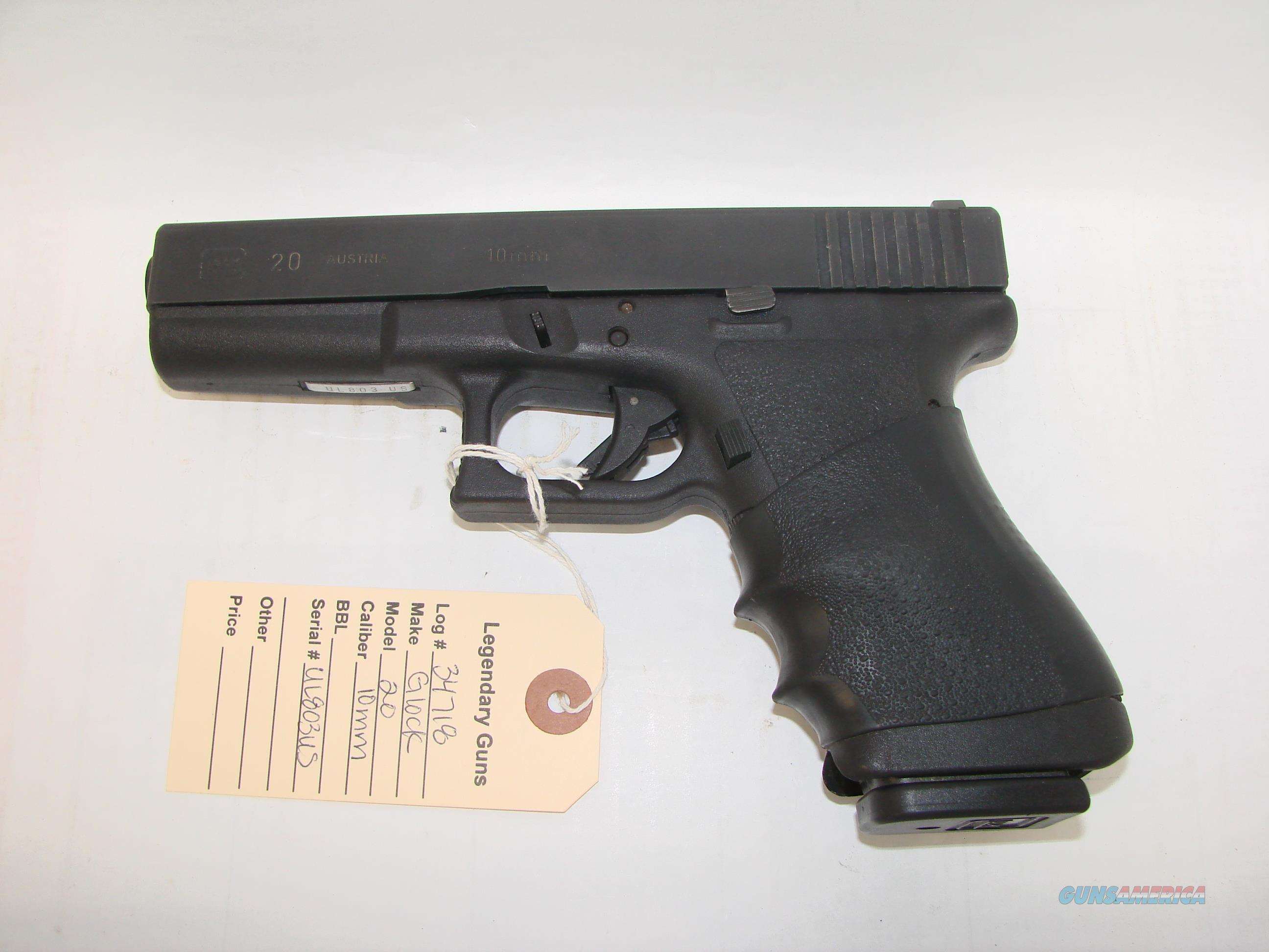 Glock 20 Gen 2  Guns > Pistols > Glock Pistols > 20/21