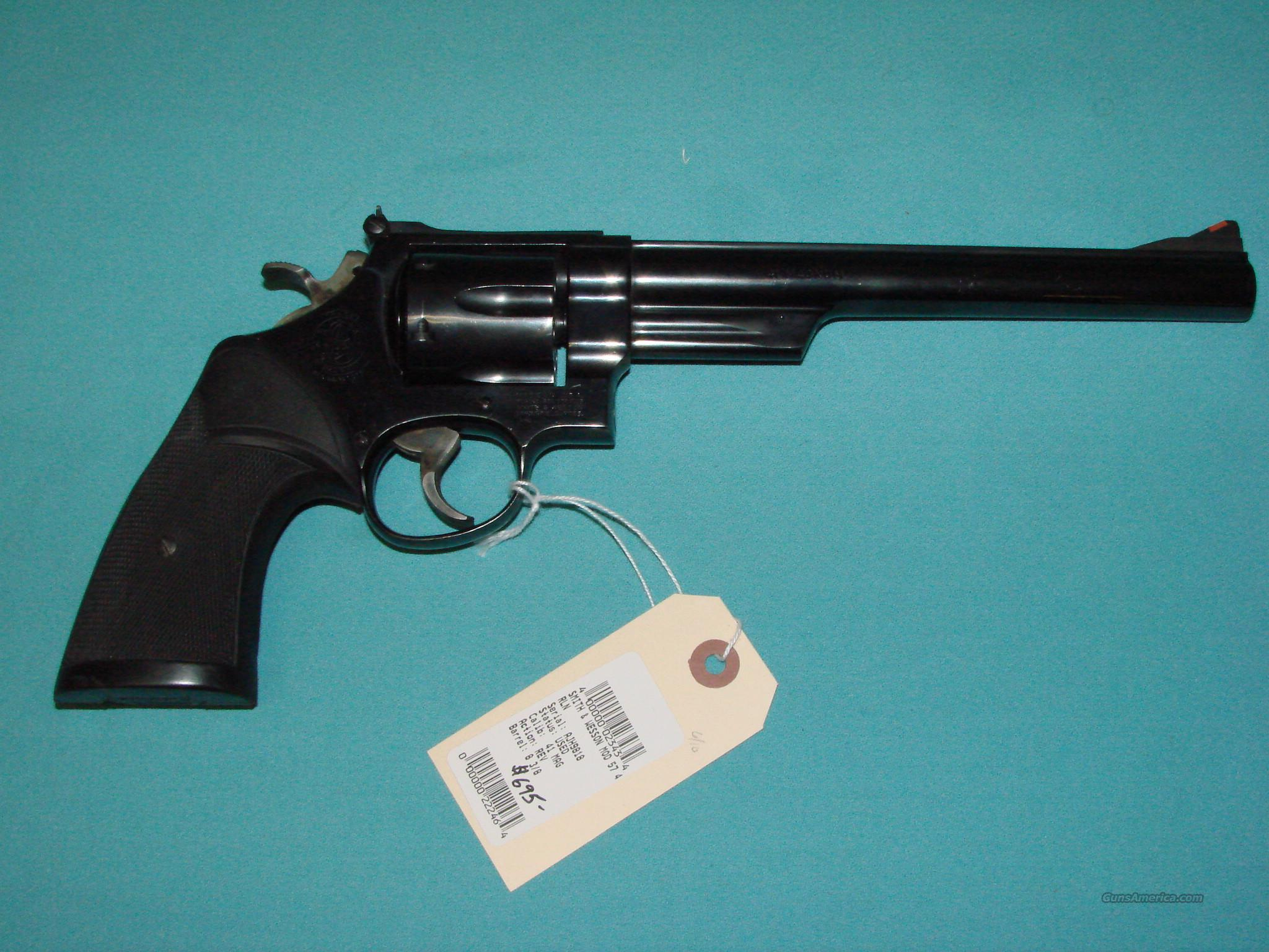S&W Model 57-1 41 Mag  Guns > Pistols > Smith & Wesson Revolvers > Full Frame Revolver