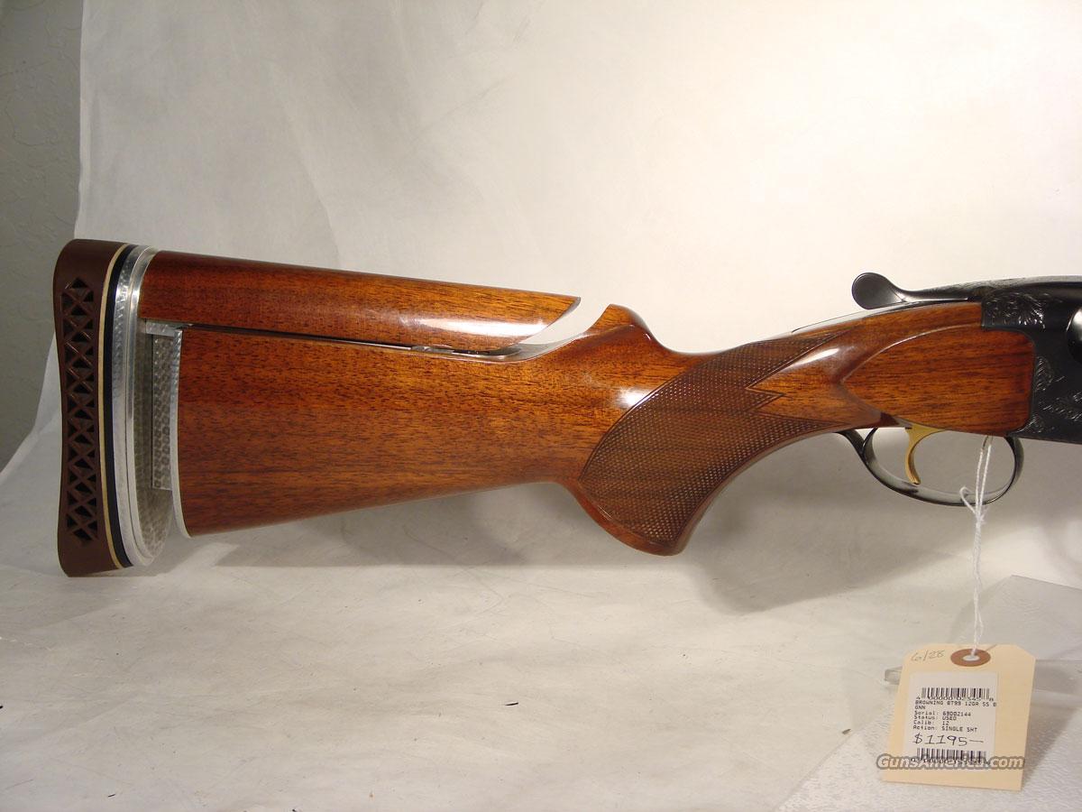 Browning BT-99 12 gauge,  Guns > Shotguns > Browning Shotguns > Single Barrel