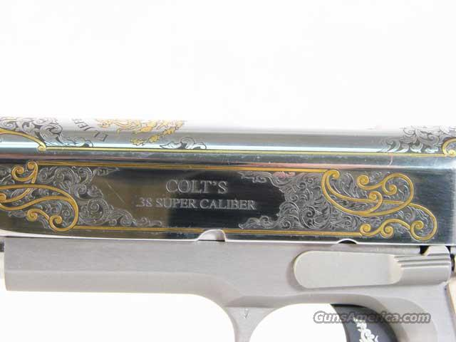"Colt ""El Jeffe De Jeffe .38 Super Custom consecutive serial number  Guns > Pistols > Colt Commemorative Pistols"