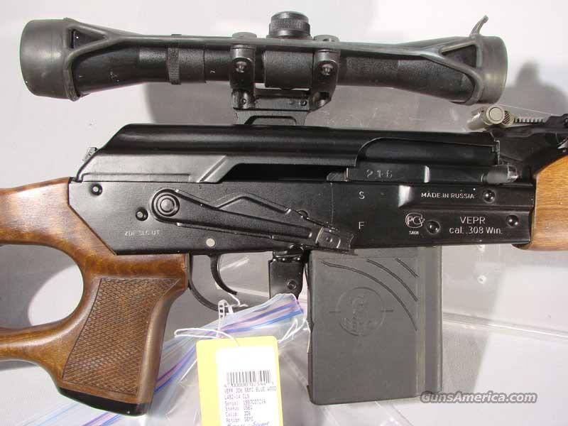 ZDF  Vper .308  Semi Auto, Russian Scope Used 4 Mags  Guns > Rifles > Saiga Rifles