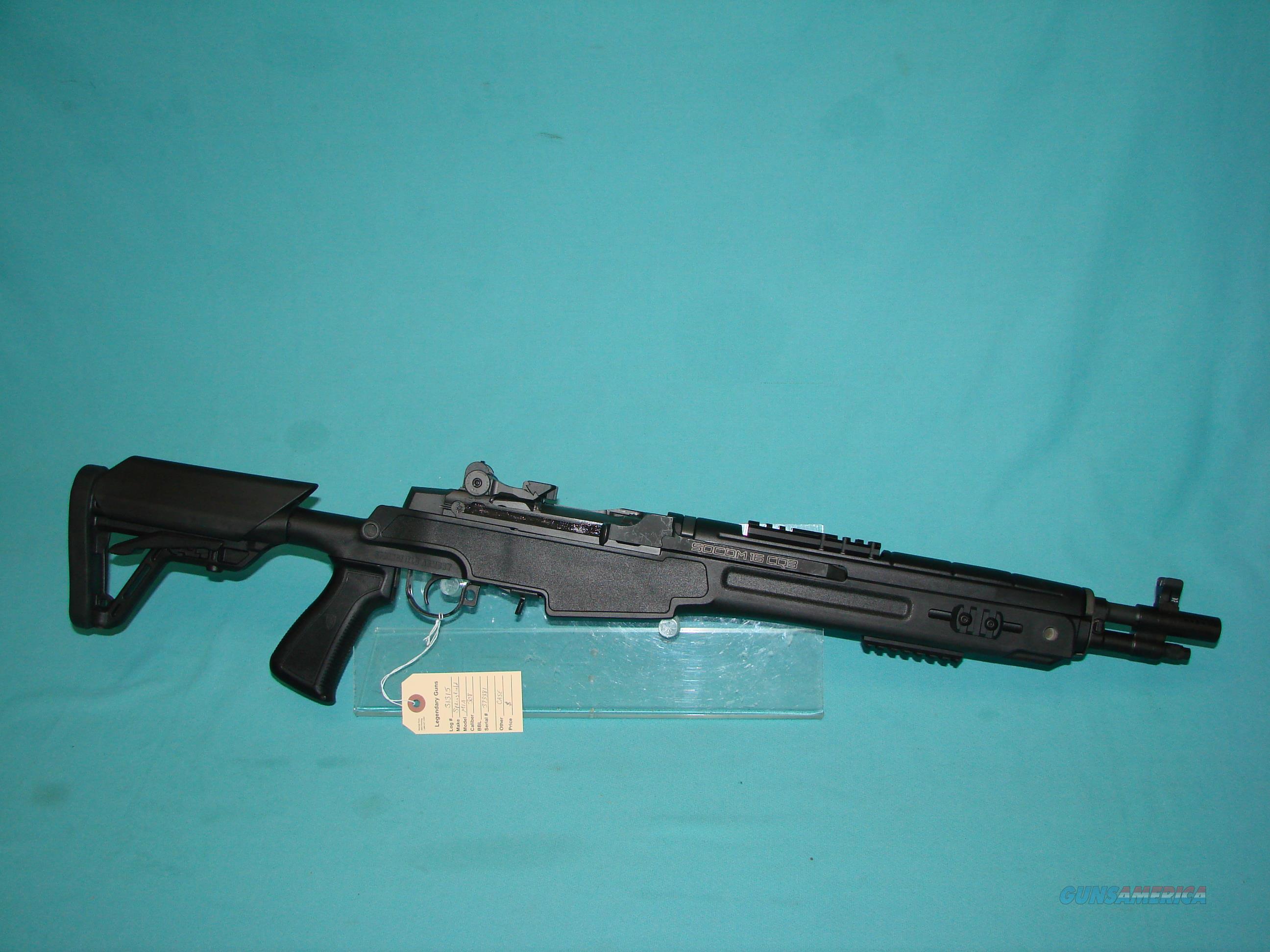 Springfield M1A Socom  Guns > Rifles > Springfield Armory Rifles > M1A/M14