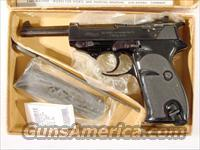 Walther P-38 As new in the box  Walther Pistols > Post WWII > P38