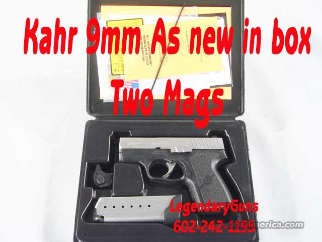 Kahr PM-9 2mags w/nightsights &Box  Guns > Pistols > Kahr Pistols