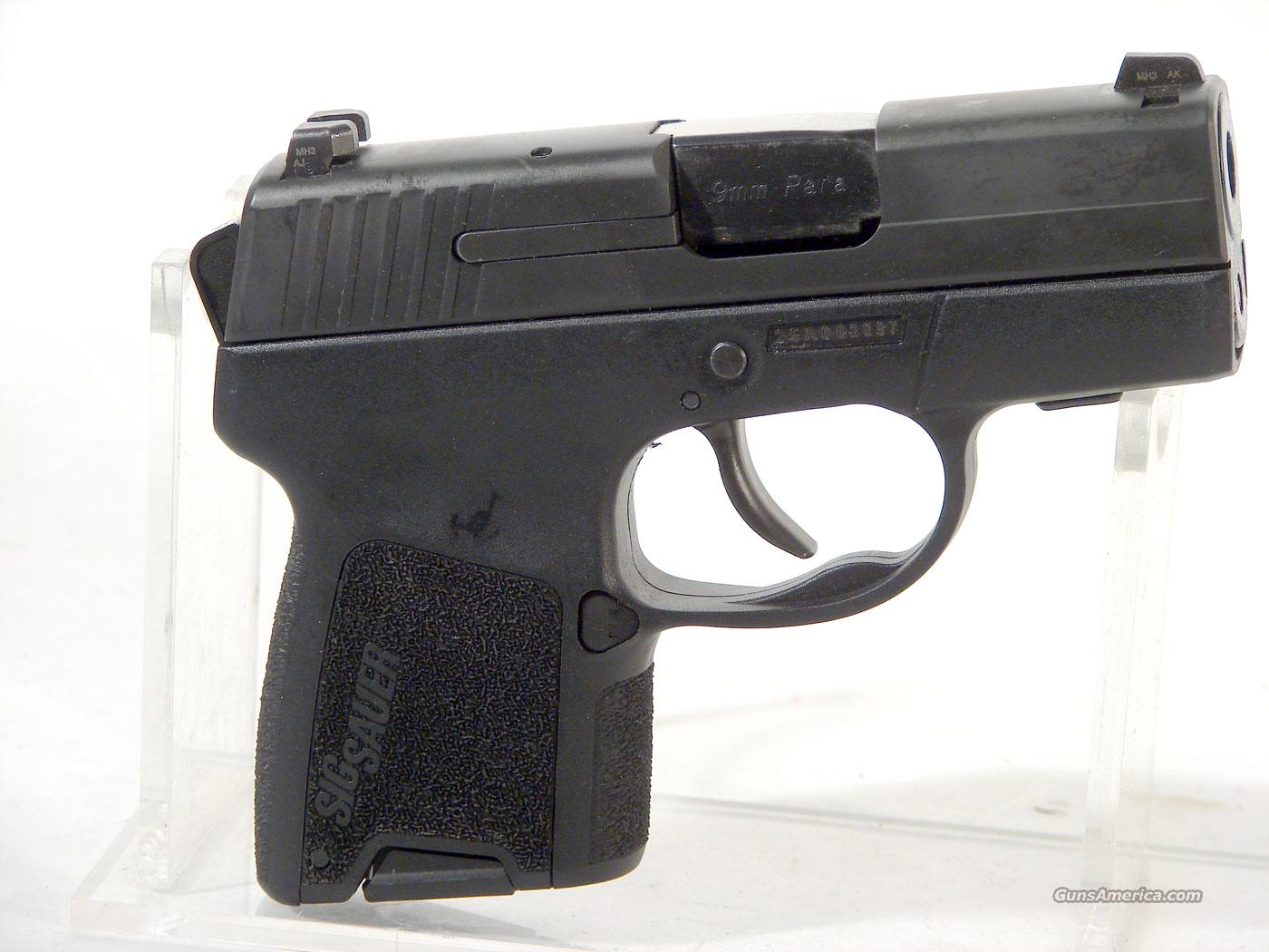 Sig P290 .9mm Compact,Used   Guns > Pistols > Sig - Sauer/Sigarms Pistols > P290