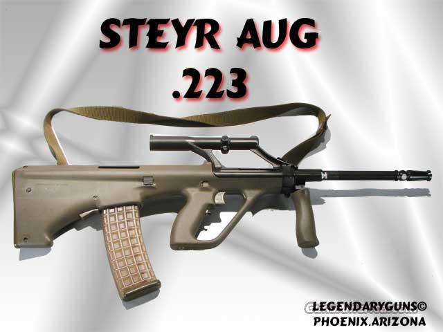 Steyr AUG  Old Model .223 With Scope  Guns > Rifles > Steyr Rifles