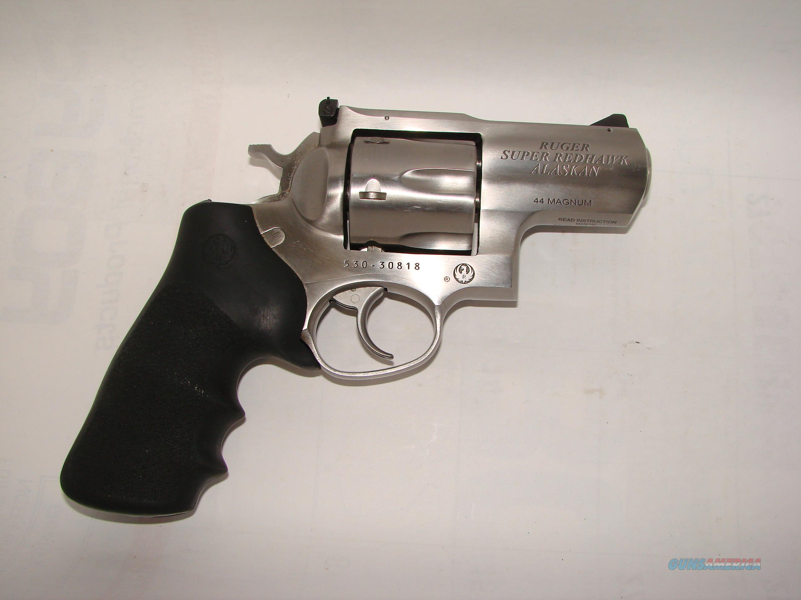 Ruger SuperRedhawk Alaskan  Guns > Pistols > Ruger Double Action Revolver > Redhawk Type