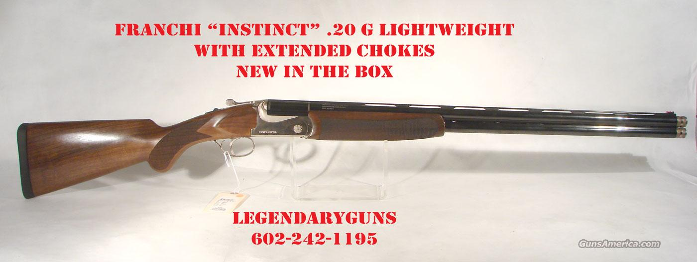 "Benelli/Franchi ""Instinct"" SL .20 gauge,  Guns > Shotguns > Franchi Shotguns > Over/Under > Hunting"
